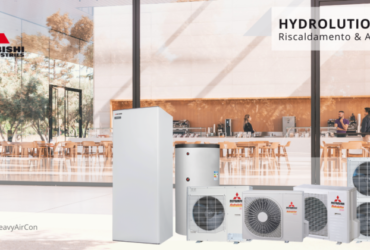 hydrolution pompa di calore modulare