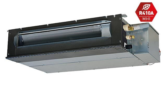 Low head ducted air conditioner