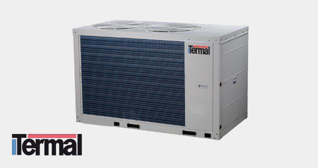 Chiller modulare u pompa di calore aria acqua monoblocco modulare